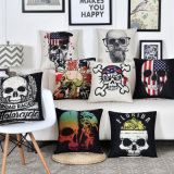 Home Decorative Custom Factory Sale Sofa Cushion Printed Cushion Cover Cotton Linen