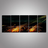 Abstract Spark Metal Wall Art / Metal Craft for Decoration