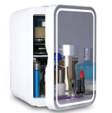 2021 Home 6L 8L 10L Portable Skin Care Beauty Smart Refrigerator Mini Makeup Fridge