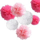 Wholesale Wedding /Baby Shower Hanging Flower Decorations Tissue Paper POM Poms