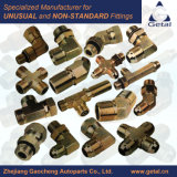 Yuhuan Manufacturer Hydraulic Tube Fittings and Pipe Fittungs