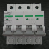 4p DC Miniature Circuit Breaker Non Polarized DC Breaker with TUV Certificates From 1A to 63A