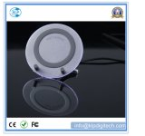 Circular Design LED Wireless Charger Fast Charging for Your Mobile Phone Qi Standard for iPhone 8