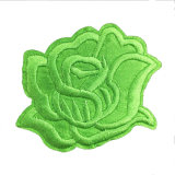 New Design Fashion Embroidery Patch 3D Flower Embroidery Patch