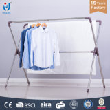 Household X-Type Clothes Rack Stainless Steel Drying Racks Metal Clothes Dryer