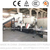Waste PE Film Plastic Recycling Pelletizing Machine with Agglomerator (PURUI)