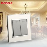 Stainless Steel Two Gang Two Way Wall Switch