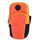 Nylon Big Capapity Smartphone Wrist Pouch Bags for Outdoor Sports
