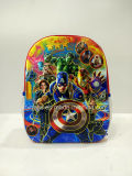 3D EVA Captain America Backpack for Boys