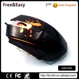 USB 2.0 Braided Cable LED Backlit Ergonomic Optical 6D Wired Gaming Mouse