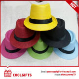 Colorful Panama Paper Straw Hat