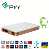 P&Y 2 USB Inputs Android 4.4 P8 Video Projector Pico Projector 1080P Mini PC