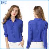 Customized Wholesale Cheap Fashion Chiffon Shirt