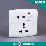 Igoto British Standard E19 Modern Electrical Wall Switch and Socket