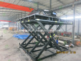 Hydraulic 4000kg home car lift with rotating table