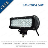 Lmusonu Hot Sale 9.5 Inch Double Row Straight CREE LED Driving Light Bar Light LED Bar 54W White Amber