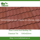 Stone Chips Coated Steel Roofing Tile (Classical Tile)