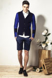 Customized Shawl Collar Knit Men Cardigan Sweater with Button