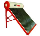 Compact Low Pressure Solar Water Heater