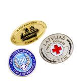 China Wholesale Price Customized Logo Football Metal Sports Badgesnational Flag Metal Football Badge