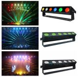 High Brightness 6PCS 25W COB 5 In1 Rgbaw LED Wall Washer Light for Stage Club