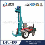 China Manufacturer of Tractor Mounted Top Drive Drilling Rig for Water Wells