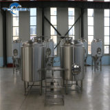 Micro 200L Cerveza Brewing Equipment, Brewhouse System with Diesel Fuel Tank with Boliler for Small Distillery, Chinese Supplier