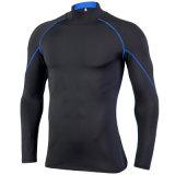 2019 New Elastic Quick-Drying Collar Gym Training Running High Collar Tight Sportswear