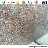 Chinese Cheap Red Granite/Polished Building Material of Tiles