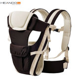 Adjustable 4 Positions Structured Ergonomic Infant Soft Baby Wrap Carrier