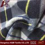 100% Polyester Polar Fleece Double Brushed and Single Napped Fabric