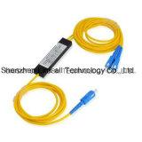 1X2 Fiber Optical Modular PLC Splitter