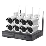8CH WiFi NVR Kit IP Camera 720p/960p1080p Optional
