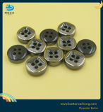Shirt Plating Plastic Button and Laser Resin Button for Men Garment