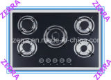 8mm Thickness Tempered Glass Gas Hob Kitchen Appliance (JZS2001)
