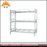 Dormitory Used 3 Layers Metal Triple Bunk Bed