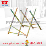 Heavy Duty Galvanized Steel Sawhorse Chainsaws Woodworking Tools (YH-SH043)