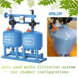 Single Chamber Configurations Sand Media Filtration Machine