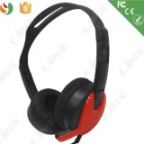 High-Quality Stereo Wired Computer Headphone with Mic