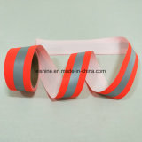 Fluo Red Permanent Flame Retardant Warning Reflective Tape for Traffic Workwear