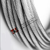 8mm Stainless Steel Wire Rope 304 1X19