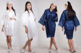 Disposable Nonwoven Kimono Robe, Wholesale Kimono Gown with Logo