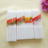 19gms, 21gms, 22gms White Candles with Cellophane Pack for West Africa Market