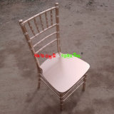 Champagne Wooden Dining Morden Wedding Stackable Tiffany Ballroom Chiavari Chair
