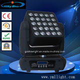 Blinder Stage Light 4in1 RGBW 5*5 Pixel Matrix 25PCS 12W Beam LED Moving Head
