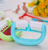 Plastic Massager Plastic Hand Roller Massager Two-Wheel Round Handle Massager Compact and Affordable Massager Wholesale