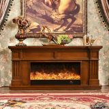 MDF Home Furniture Heater Electric Fireplace with Ce Approved (343S)