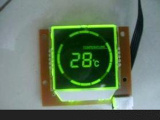 Stn Green/Yellow LCD Module
