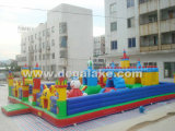 Outdoor Big Inflatable Fun City Amusement Park for Kids