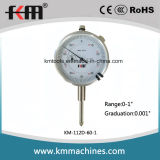 0-1′′ Dial Indicator with 0.001′′ Graduation Inch Dial Indicator Gauge